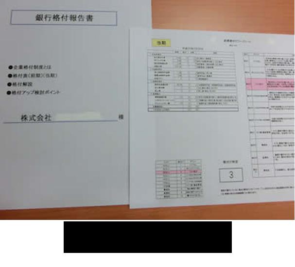 銀行融資格付報告書サービスの詳細